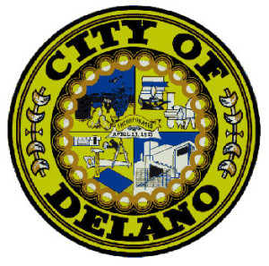 Delano city logo