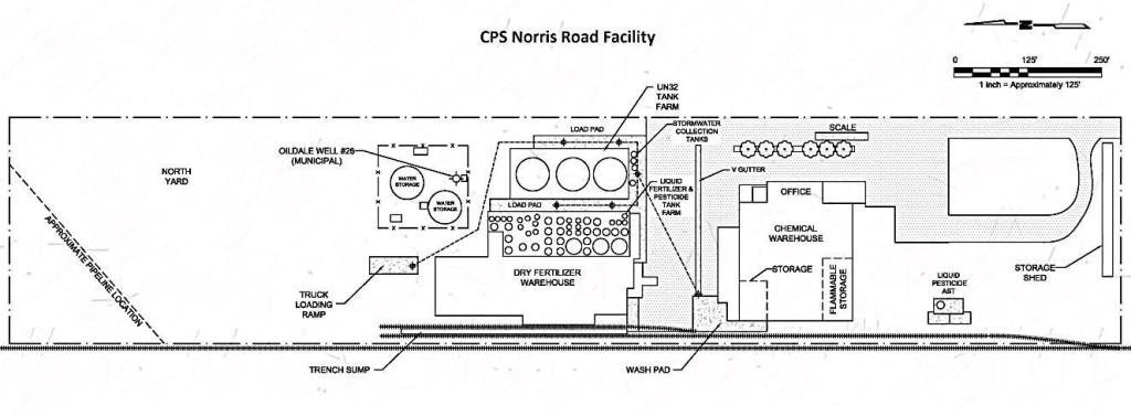 Oildale schematic